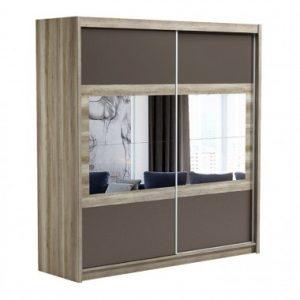Skapis ar bīdāmām durvīm un spoguli Salwador 203