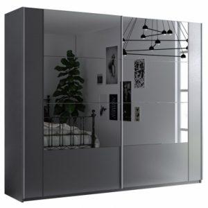Skapis ar bīdāmām durvīm un spoguli Santiago 250