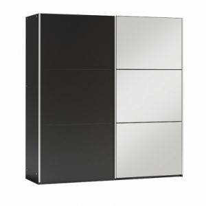 Skapis ar bīdāmām durvīm un spoguli Vigo 150