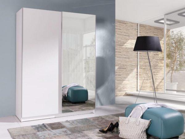 Skapis ar bīdāmām durvīm un spoguli Batumi 2