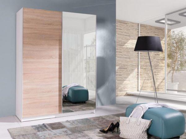 Skapis ar bīdāmām durvīm un spoguli Batumi 5