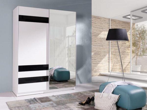 Skapis ar bīdāmām durvīm un spoguli Batumi 7