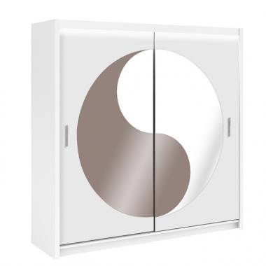 Skapis ar bīdāmām durvīm Lotos