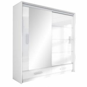 Skapis ar bīdāmām durvīm un spoguli Marsylia 203