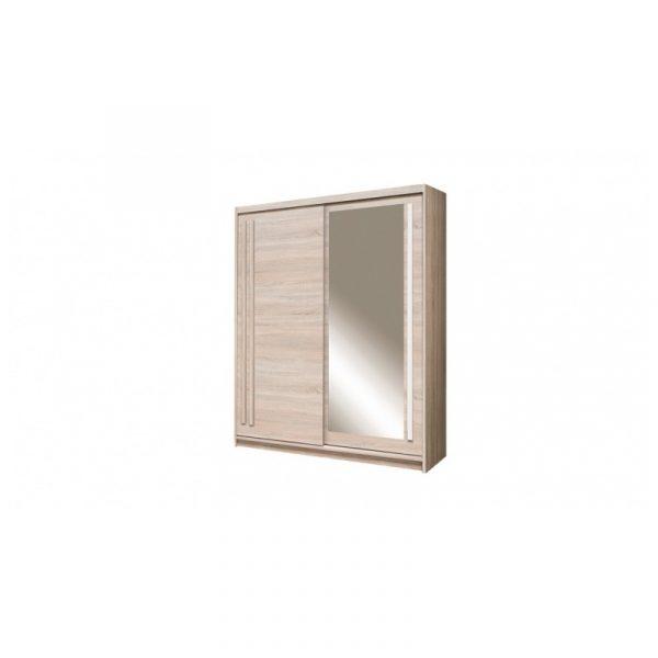 Skapis ar bīdāmām durvīm un spoguli Effect EF-2-175