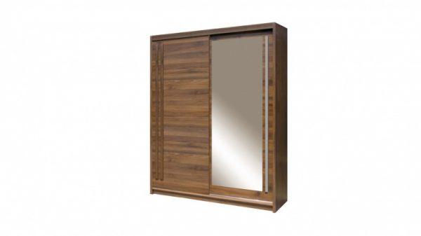 Skapis ar bīdāmām durvīm un spoguli Effect EF-3-175
