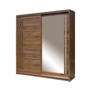 Skapis ar bīdāmām durvīm un spoguli Effect EF-3-200