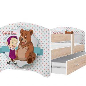 Bērnu gulta LUCKY SZ