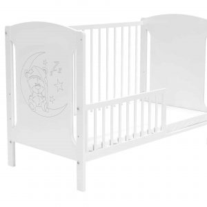 Bērnu gultiņa TOLA (balta)