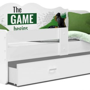Bērnu gulta ar grafiku NELI