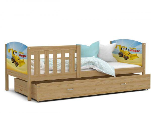 Bērnu gulta TAMI P grafika