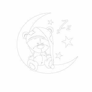 Bērnu gultiņa TOLA (priede)