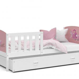 Bērnu gulta TAMI P MDF grafika