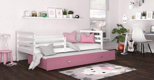 Divvietīga bērnu gulta JACEK P2 MDF