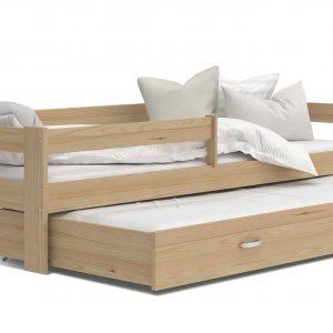 Divvietīga bērnu gulta HUGO P2