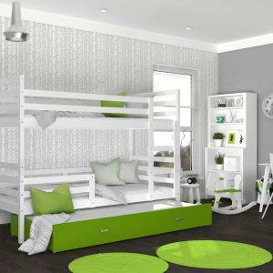 Divvietīga bērnu gulta JACEK 3 MDF