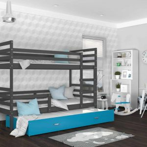 Divstāvu gulta JACEK 3 MDF