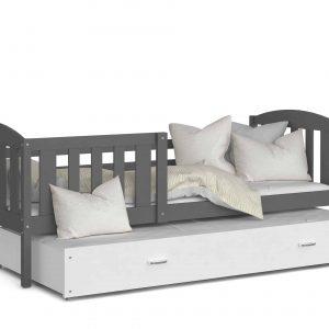 Divvietīga bērnu gulta KUBUS P2 MDF