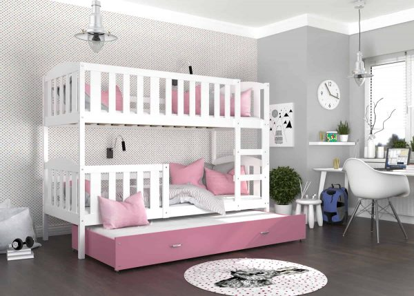 Divstāvu gulta KUBUS 3 MDF