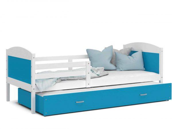 Divvietīga bērnu gulta MATEUSZ P2 MDF