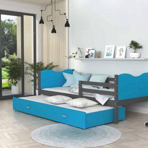 Divvietīga bērnu gulta MAX P2 MDF