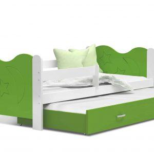 Divvietīga bērnu gulta MIKOLAJ P2 MDF