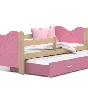 Divvietīga bērnu gulta MAKOLAJ P2