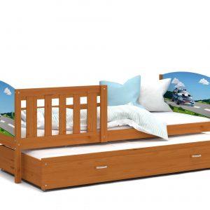 Divvietīga bērnu gulta TAMI P2 grafika