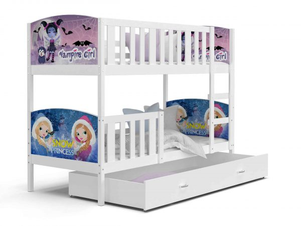 Divstāvu gulta TAMI MDF Grafika