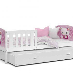 Divvietīga bērnu gulta TAMI P2 MDF grafika