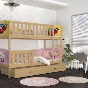 Divstāvu gulta TAMI Grafika